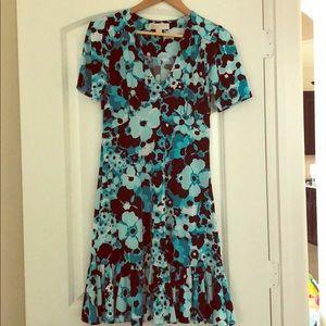 Floral Matte-Jersey Dress